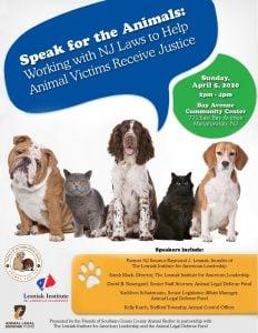 speak for the animals